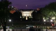 Whitehouse night time lapse