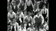 Whole city dances to church in traditional skipping or hopping festival the Dancing Procession of Echternach which is included in the UNESCO...