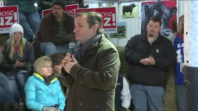 WHOTed Cruz Campaigning in Iowa Talks About Obama in Osceola Iowa on January 26 2016