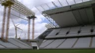 Wide Shot Arena Da Sao Paulo A tragic accident at Arena De Sao Paulo led to the death of two workers when the roof collapsed Despite the incident the...