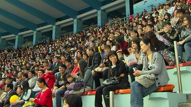 Wide Shot Audience Hong Kong Kwangtung China