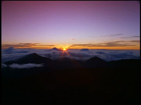 Mountain Horizon Sunset