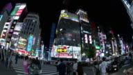 PAN,Wide shot of Shinjuku,Tokyo,Japan