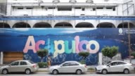 Wide shots of a mural for the city of Acapulco in downtown Acapulco Guerrero Mexico Wednesday November 18 2015 Acapulco is one of Mexico's best known...