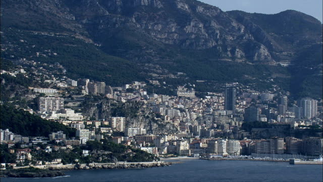 Wide Shots Of Monaco  - Aerial View -, Monaco