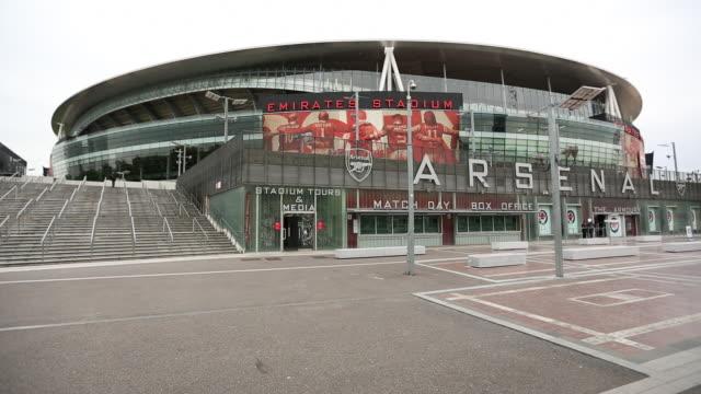 Wide view Emirates Stadium