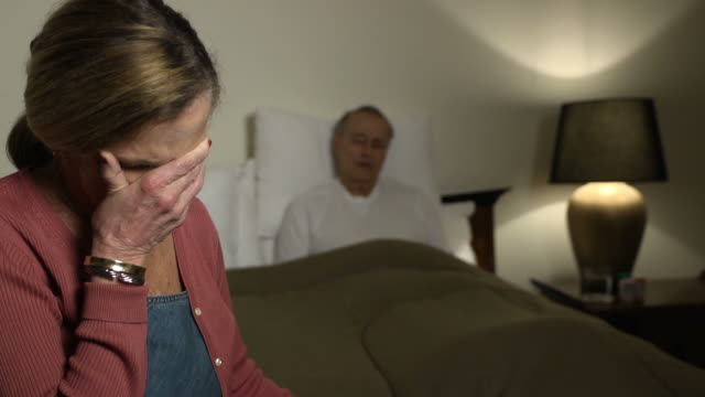 Wife Expresses Concern for Sick Husband - WS