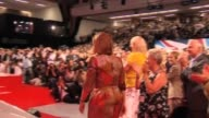 Wife of British Prime Minister Sarah Brown walks towards stage at Labour Party annual conference Brighton 27 September 2009
