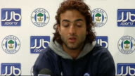 New players Ben Watson Mido and Hugo Rodagella press conference and photocall INT Mido press conference about leaving Middlesbrough SOT