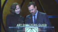 SPEECH Will Forte Kristen Schaal at 21st Annual Art Directors Guild Excellence in Production Design Awards in Los Angeles CA