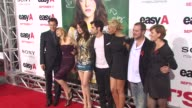 Will Gluck Patricia Clarkson Emma Stone Penn Badgley Alyson Michalka at the 'Easy A' Premiere at Los Angeles CA