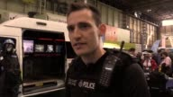 Will Russell of British Transport Police's Special Response Team talks about the specialised kit his unit uses when dealing with suspect packages and...