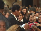 Will Smith with fans at the Fan Screening of War of the Worlds at Graumans Chinese Theatre in Los Angeles CA
