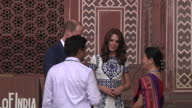 William and Kate have visited the Taj Mahal on the final day of their tour of India and Bhutan The couple's trip has prompted comparisons with the...