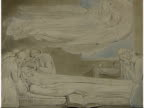 Fight to keep paintings in Britain ENGLAND INT music overlay Where'er you walk Semele The World of Handel GVS William Blake's 'Designs for Blair's...