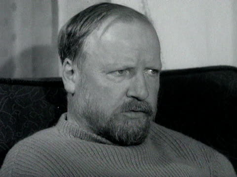 William Golding talks about why he uses shock endings in his books