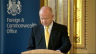 William Hague speech at FCO on human rights William Hague continued SOT Finally in terms of the improvement of our reporting this Command Paper is...