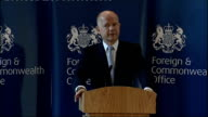 William Hague speech to the Foreign and Commonwealth Office Hague speech So against all the odds and for the first time in decades British diplomacy...