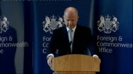 William Hague speech to the Foreign and Commonwealth Office Hague speech SOT Finally as a politician and part time historian I was surprised and...