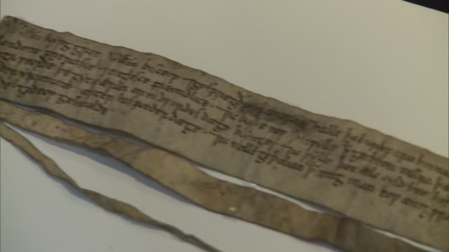 William the Conqueror document recognising the City of London Close shot part of peace treaty document from William the Conqueror to city of London...