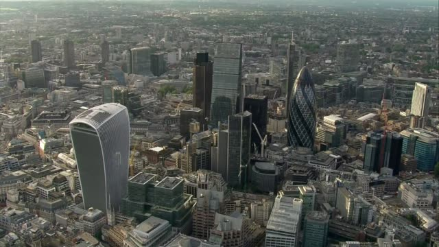 William the Conqueror document recognising the City of London LIB / 240616 London City of London including iconic high rise buildings