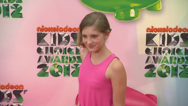 Willow Shields at Nickelodeon's 25th Annual Kids' Choice Awards on 3/31/2012 in Los Angeles CA