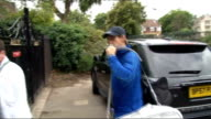 Wimbledon 2011 begins EXT Andy Murray taking equipment from boot of car as arrives at club and responds to reporter SOT I am feeling good thank you...