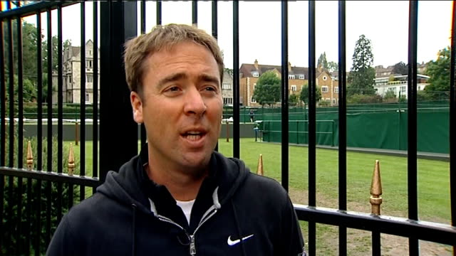 Heather Watson defeated by Agnieszka Radwanska ENGLAND London Wimbledon EXT Ian Bates interview SOT Heather Watson walknig through entrance gates...