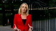 Heather Watson defeated by Agnieszka Radwanska EXT Reporter to camera