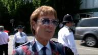 Celebrity arrivals ENGLAND London Wimbledon General views of arrivals / Chris Evert signing autographs / Chris Evert interview SOT/ Jacques Rogge...