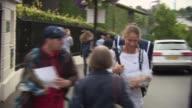 Johanna Konta first British woman to reach semifinals since 1978 Johanna Konta arriving carrying box of muffins