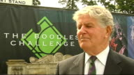 Alan Mills interview ENGLAND Buckinghamshire Stoke Park EXT Alan Mills interview SOT Roof on Centre Court at Wimbledon not necessary and not fair on...