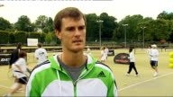 Draw announced Jamie Murray interview ENGLAND London Wimbledon EXT Jamie Murray interview SOT Talks of Andy Murray's first round opponent at...