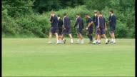 London Wimbledon EXT Various GVs AFC Wimbledon players in training