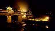Wind and rain bridge of Chengyang