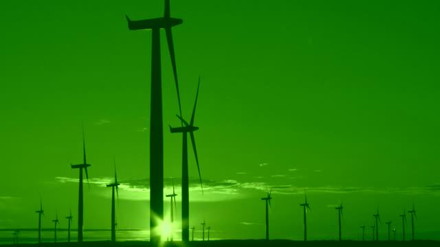 Wind Energy, Green Sunset