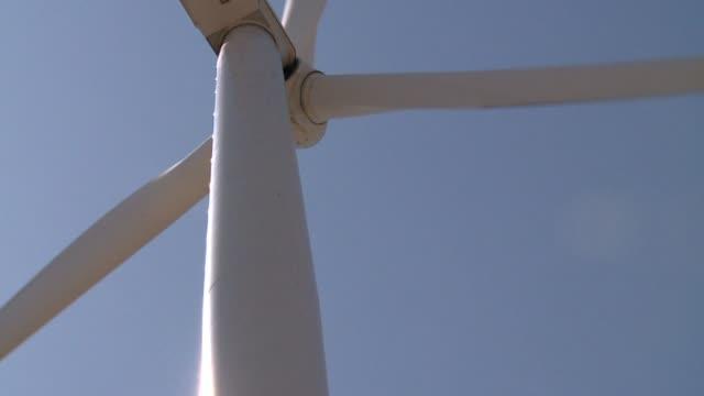 Wind Farm on May 18 2010 in Grand Rapids Michigan