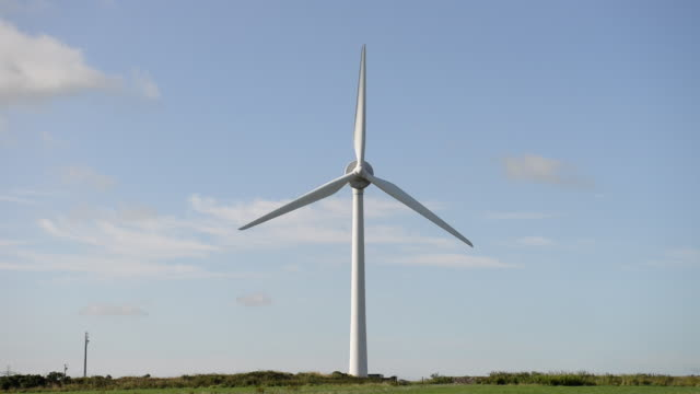 Wind Turbine, Cornwall, UK