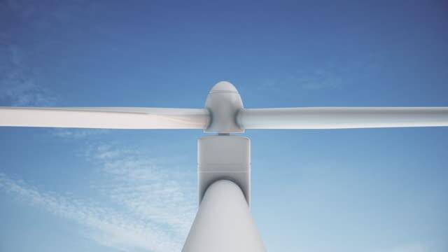 4K Wind Turbine | Loopable