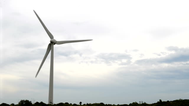 Wind turbine - power generating windmill