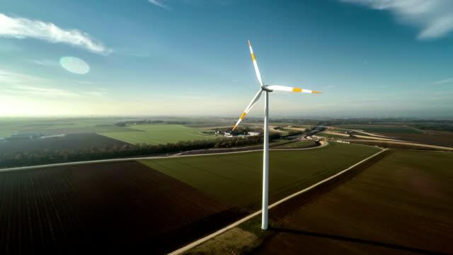 AERIAL : Wind Turbine