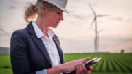 Wind Turbines Inspected by female Engineer/Technician - Women in STEM