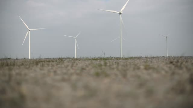 Wind turbines stand at the Subplu wind farm operated by Gunkul Engineering Pcl in Huay Bong Thailand on Thursday Nov 2 2017
