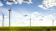 Wind Turbines-- time lapse