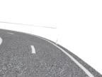 Kurvenreiche Straße (NTSC-Animation