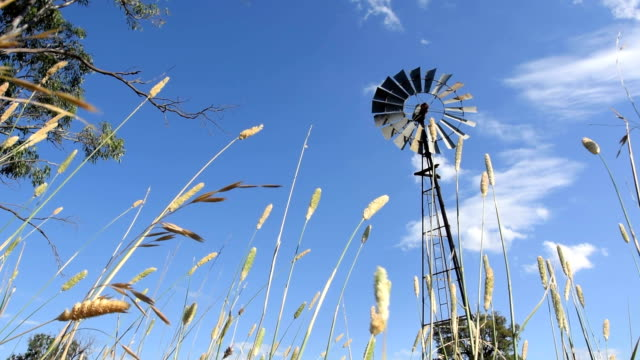 Windmill in the country in Australia
