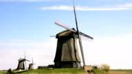 Windmills landscape in Holland