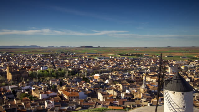 Windmills of Consuegra - Timelapse Pan