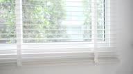 Window Blinds Closing