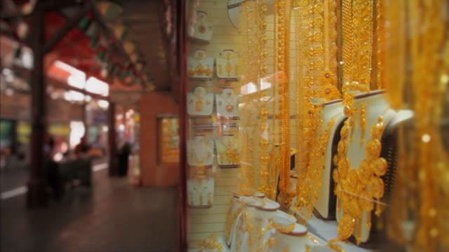 CU Window display in Gold Souk / Dubai, United Arab Emirates